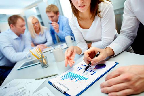 Servicios de traducción profesional financiera