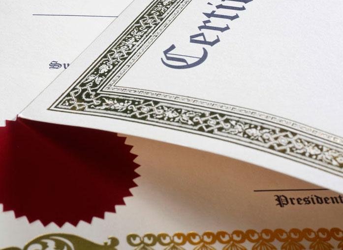 Traducción jurada de certificado